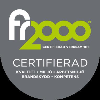 Certifierad - FR2000